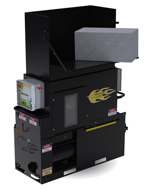 CM-2400 insulation machine with PD Blower