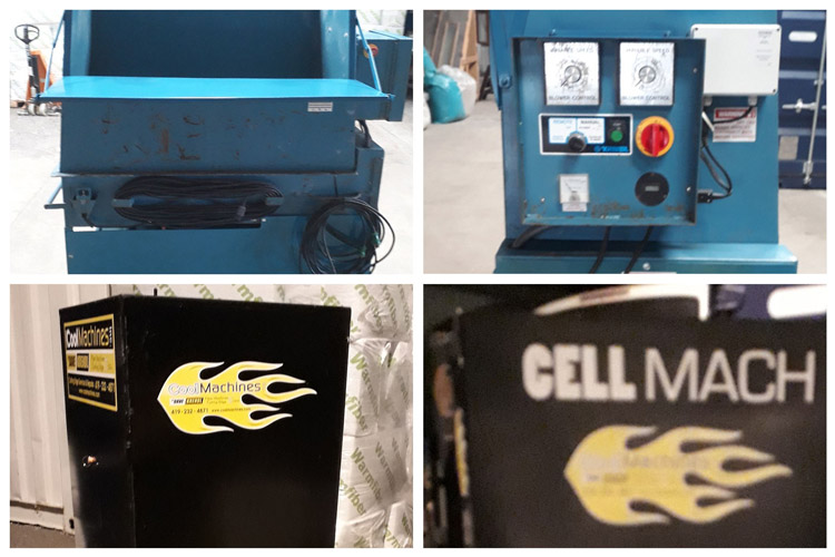 brugte isoleringsmaskiner købes og sælges