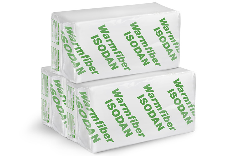 Warmfiber papirisolering og papiruld til indblæsning af isolering