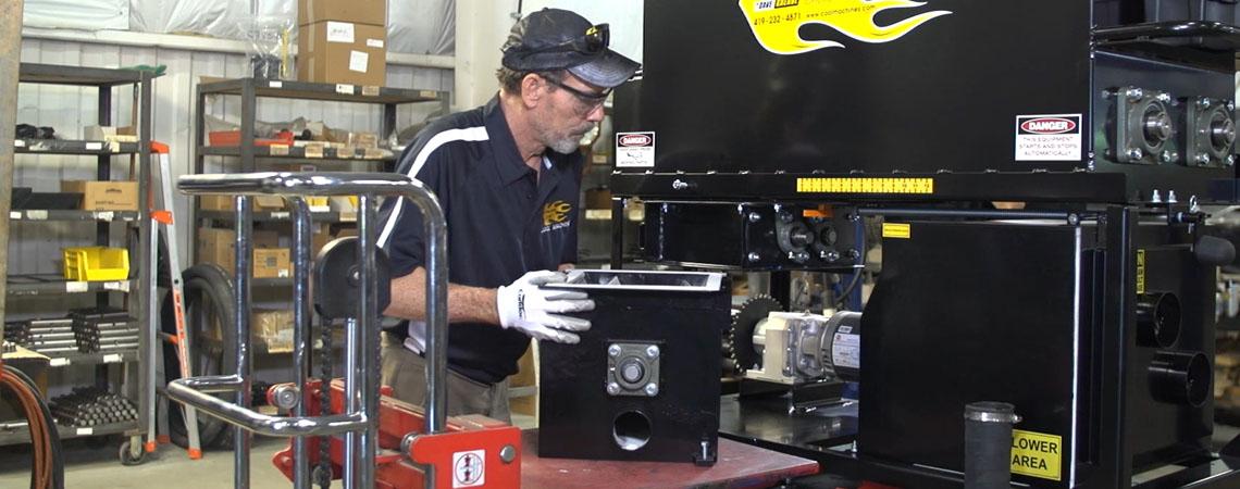 reparation af isoleringsmaskine og vakuumsuger