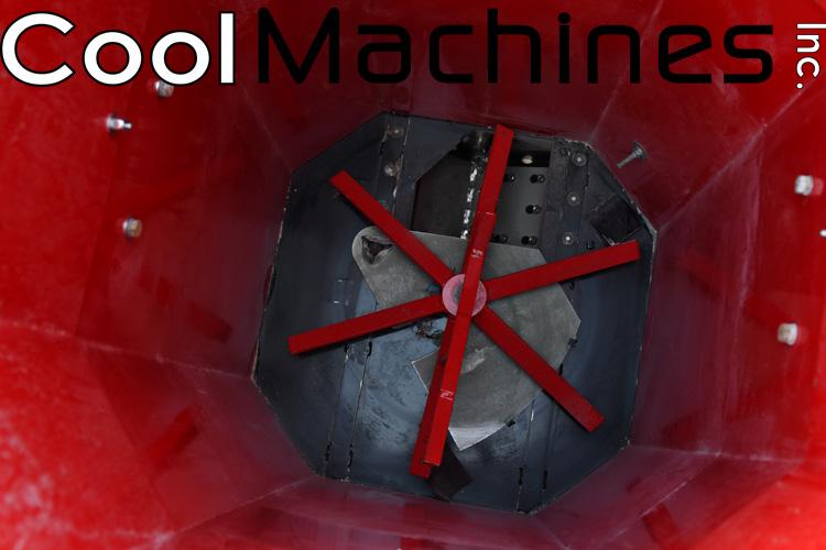Opriversystem X-Floc Minifant brugt isoleringsmaskine