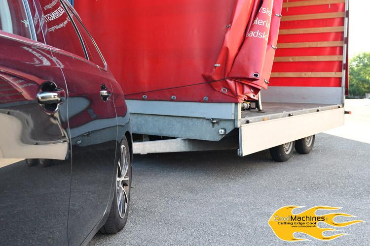 eduard trailer med isoleringsmaskine meyer 550