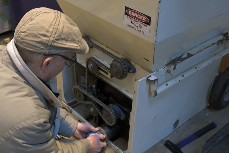Tjekker blæsekapacitet cell mach 1500 isoleringsmaskine