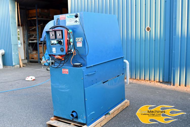 indblæsningsmaskine krendl 2300 brugt sælges af cool machines