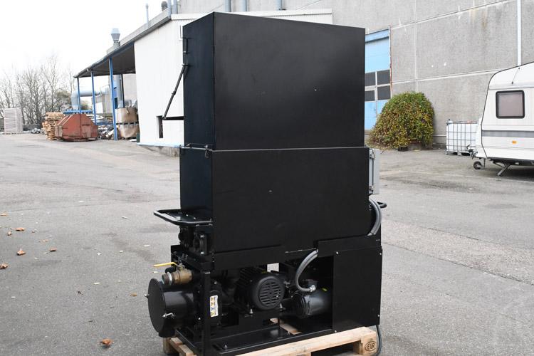 isoleringsmaskine CM-2400 med kompressorblæser