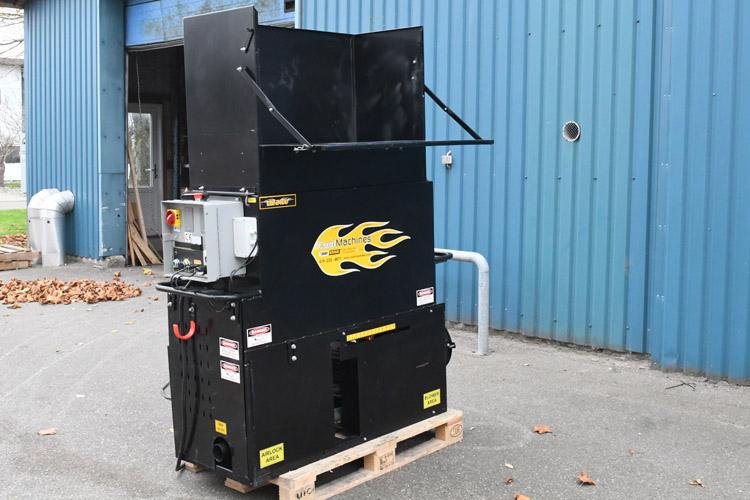 isoleringsmaskine til indblæsning af granulat