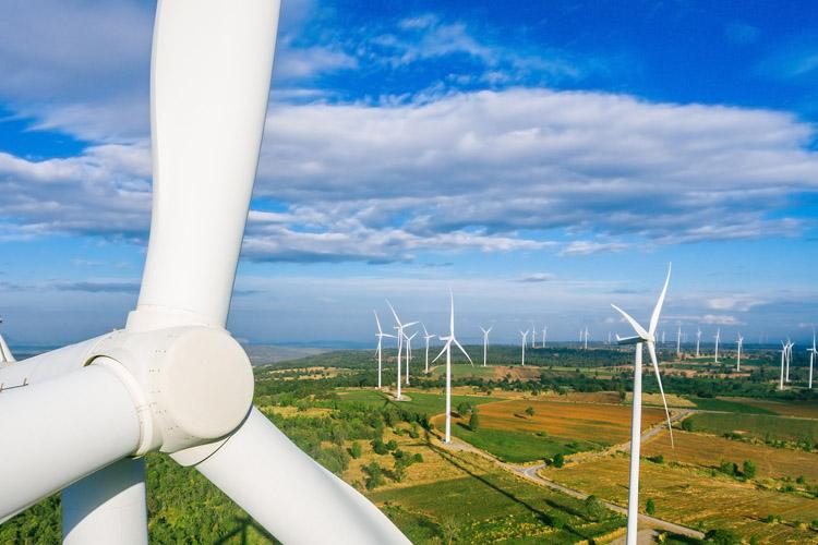 produktionsanlæg til recirkulering af vindmøllevinger og komposit materiel
