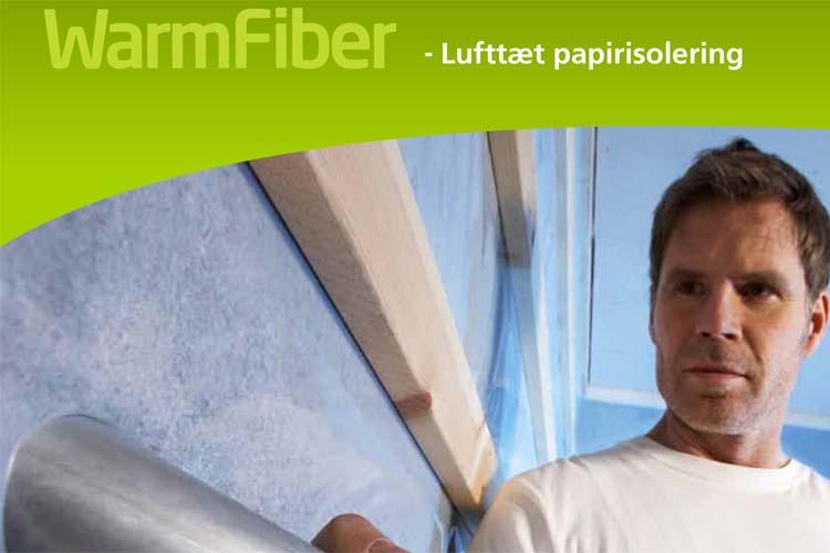 information om warmfiber papirisolering