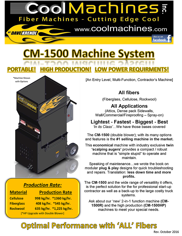 CM-1500S Deutch brochure