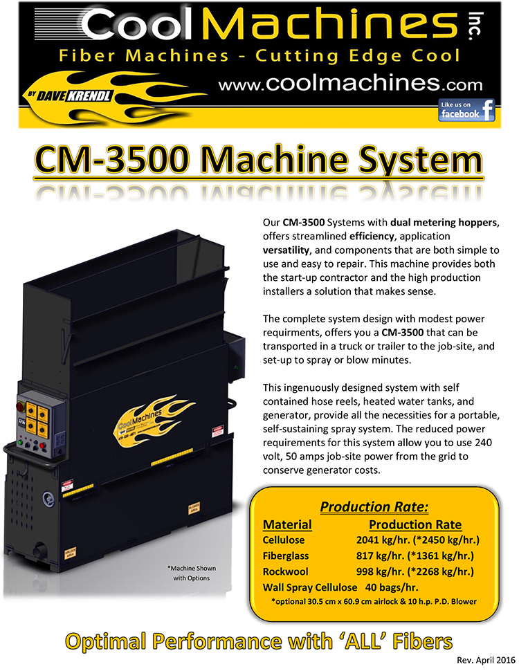 CM-3500 Brochure (Deutsch)