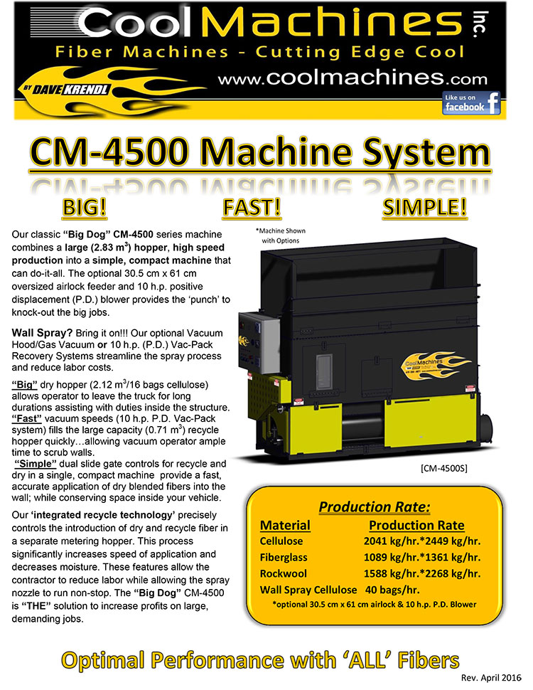CM-4500XL Brochure (Deutsch)