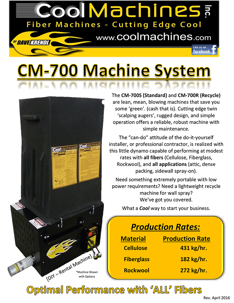 CM-700 Brochure (Deutsch)