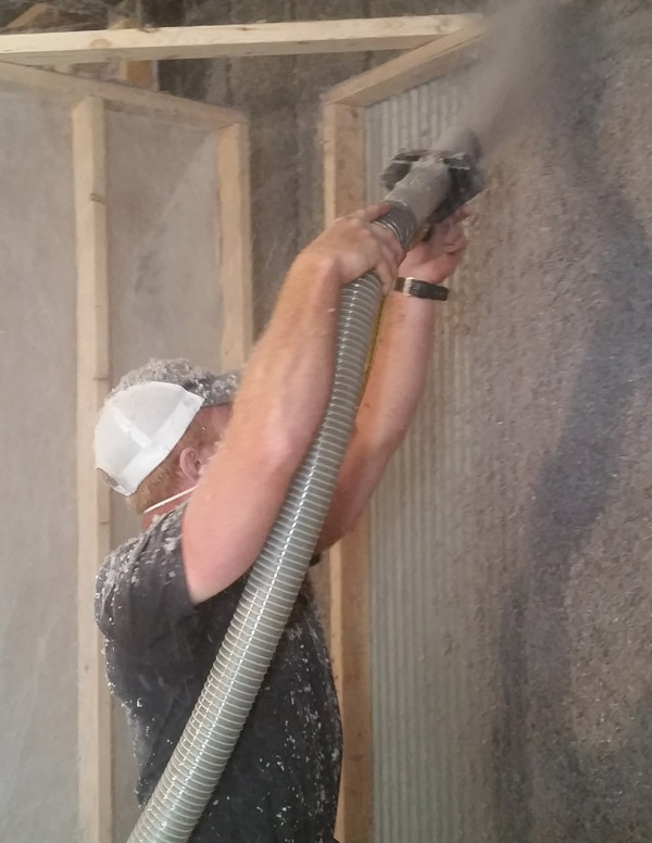 Wall Spray Insulation